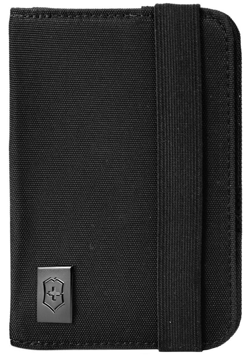 Обложка для паспорта Victorinox, цвет: черный. 3117220131172201Оригинальный швейцарский армейский нож «Swiss Army» был создан в 1897 году в небольшой деревушке Ибах в Швейцарии.С тех пор продукция,выпускаемая под маркой «Victorinox» с ее узнаваемым логотипом в виде креста на щите,по праву считается эталоном отличного качества,высокой функциональности,инновационных технологий и культового дизайна.Наша преданность принципам в течение последних 130 лет позволила нам создавать продукты,которые являются выдающимися не только по дизайну и качеству,но которые также являются надежными спутниками в больших и маленьких жизненных приключениях. Сегодня мы с гордостью представляем линейку сумок,чемоданов и дорожных аксессуаров,которые наилучшим образом воплощают в себе данные принципы,а также сочетают в себе черты нашего лучшего классического стиля. Коллекция Lifestyle Accessories 4.0 включает в себя широкий ассортимент решений для путешествий и повседневной жизни.Независимо от пункта назначения данные высоко-практичные аксессуары станут...