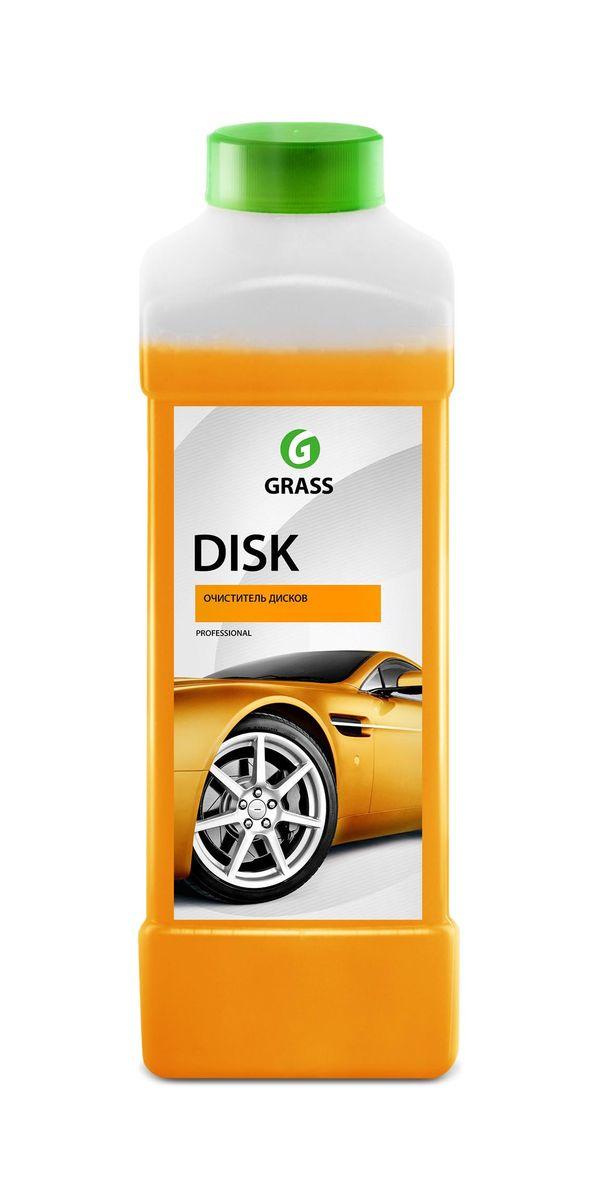 Средство для очистки колесных дисков Grass Disk, 1 л117100Концентрированное кислотное моющее средство для очистки колесных дисков и других изделий из легких сплавов. Быстро и эффективно удаляет с пыль от тормозных колодок, сажу, ржавчину, нефтепродукты, смолы и другие дорожные загрязнения. Разводится с водой из расчета 200-500г/л.