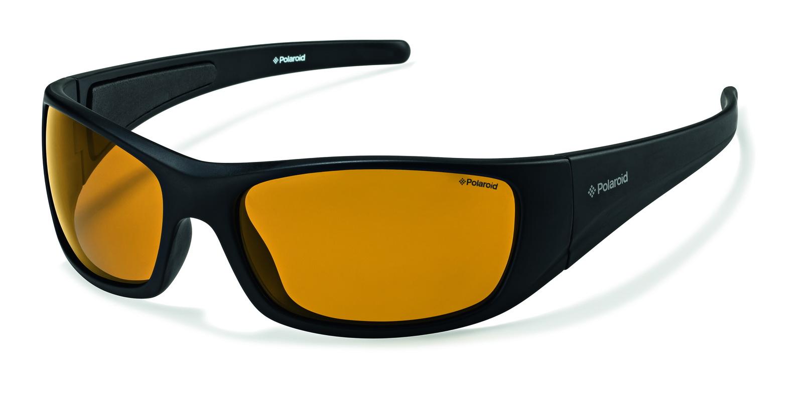 Очки поляризационные Polaroid, цвет: черный, желтый. P7420CINT-06501Поляризационные солнцезащитные очки Polaroid обеспечивают видение без бликов, 100%-ую защиту от ультрафиолетового излучения, естественные цвета, чистые контрасты и снижение усталости глаз. Все линзы обладают ударопрочными свойствами и стойкостью к царапинам для защиты Ваших глаз. Очки Polaroid - лучшие солнцезащитные очки с поляризационными линзами по доступным ценам.