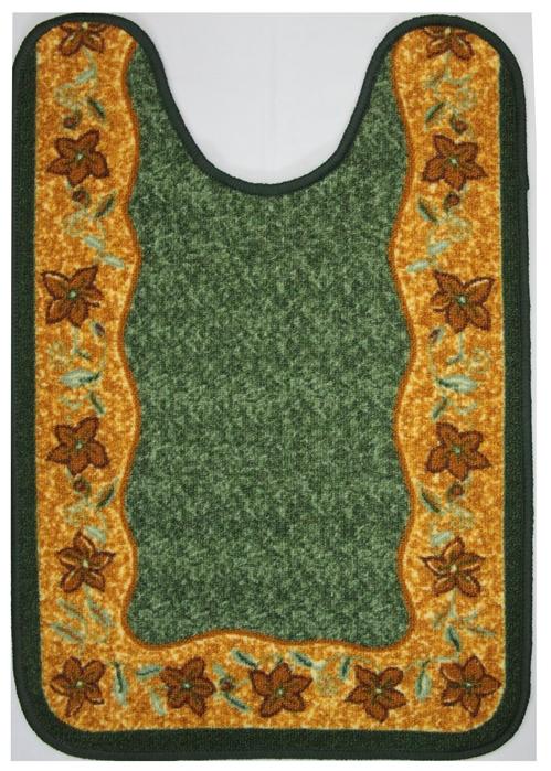 Коврик для ванной MAC Carpet Розетта, цвет: зеленый, 57 х 80 см14959/зелКоврики из нейлона на резиновой основе с успехом применяются в ванных комнатах ,где необходима защита от влаги.Нейлон обеспечивает повышенную износостойкость и простоту в уходе.