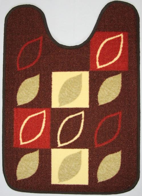 Коврик для ванной MAC Carpet Розетта, цвет: коричневый, 57 х 80 см14959/корКоврики из нейлона на резиновой основе с успехом применяются в ванных комнатах ,где необходима защита от влаги.Нейлон обеспечивает повышенную износостойкость и простоту в уходе.