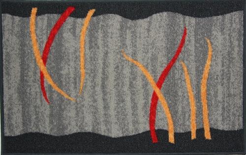 Коврик для ванной MAC Carpet Розетта, цвет: серый, 50 х 76 см21680/серКоврики из нейлона на резиновой основе с успехом могут применяться как в ванных комнатах ,так и во всех других помещениях,где необходима защита от влаги.Нейлон обеспечивает повышенную износостойкость и простоту в уходе.
