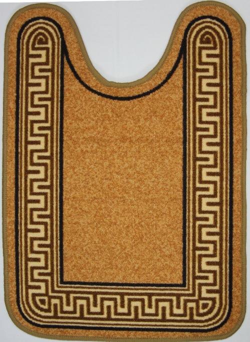 Коврик для ванной MAC Carpet Розетта. Версаче, цвет: коричневый, 57 х 80 см391602Коврики из нейлона на резиновой основе с успехом применяются в ванных комнатах ,где необходима защита от влаги.Нейлон обеспечивает повышенную износостойкость и простоту в уходе.