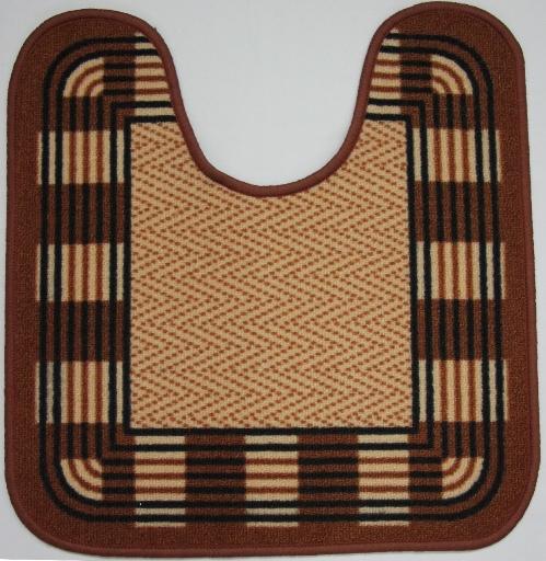 Коврик для ванной MAC Carpet Розетта, цвет: коричневый, 57 х 60 см106-029Коврики из нейлона на резиновой основе с успехом применяются в ванных комнатах ,где необходима защита от влаги.Нейлон обеспечивает повышенную износостойкость и простоту в уходе.
