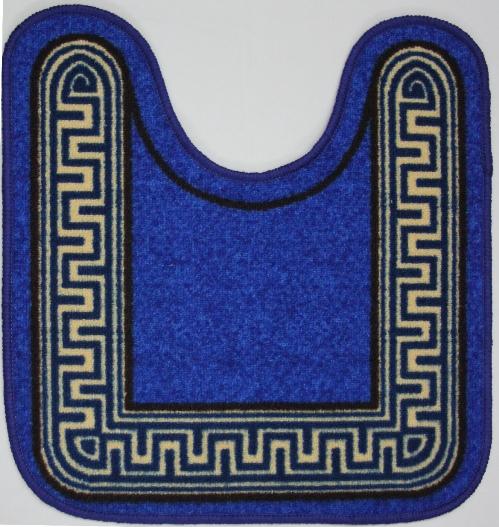 Коврик для ванной MAC Carpet Розетта. Версаче, цвет: синий, 57 х 60 см14958/версаче синийКоврики из нейлона на резиновой основе с успехом применяются в ванных комнатах ,где необходима защита от влаги.Нейлон обеспечивает повышенную износостойкость и простоту в уходе.