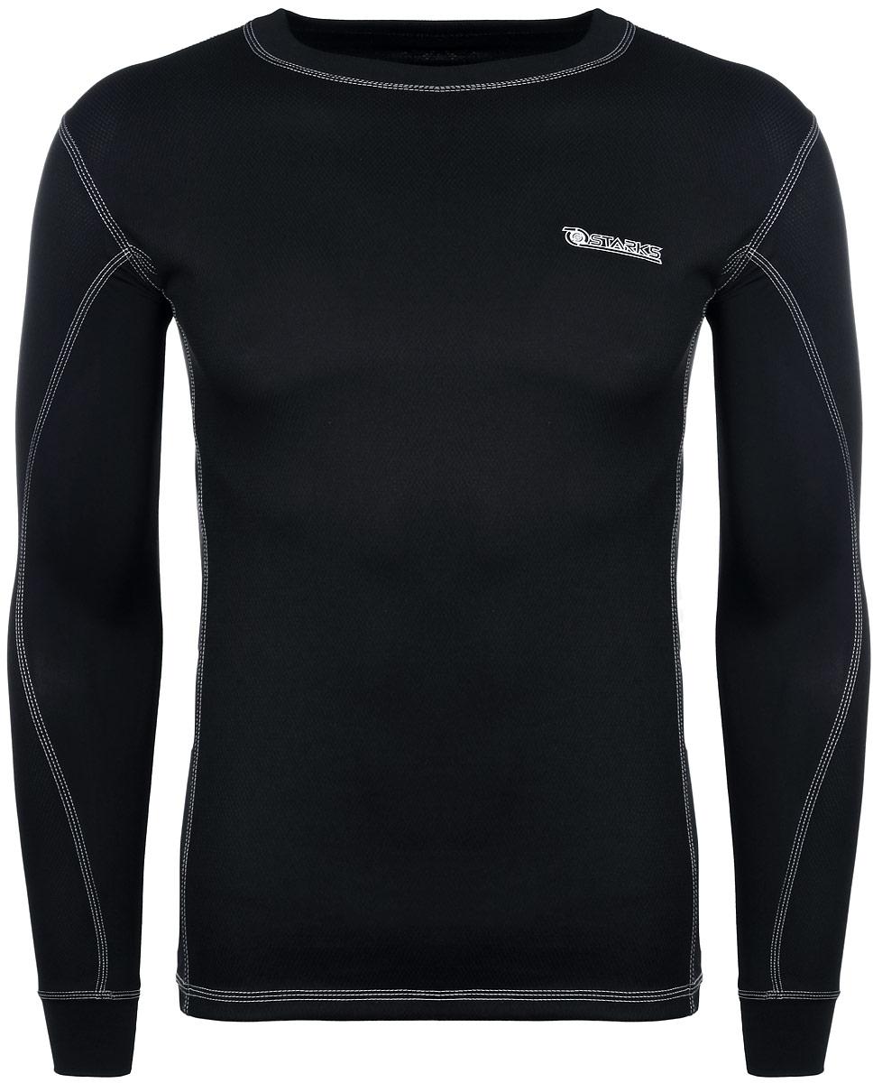 Термобелье кофта Starks, летняя, цвет: черный. Размер S