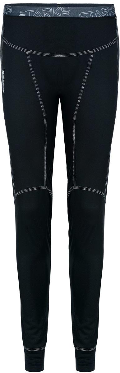 Термобелье брюки Starks, летние, цвет: черный. Размер S