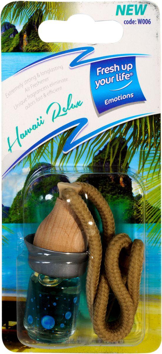 Ароматизатор жидкий Wood Гавайский отдыхW 006Эффективно длительное время борется с посторонними запахами и наполняет воздух приятными ароматами. Материал: нетоксичные отдушки, пропиленгликоль, дованол.