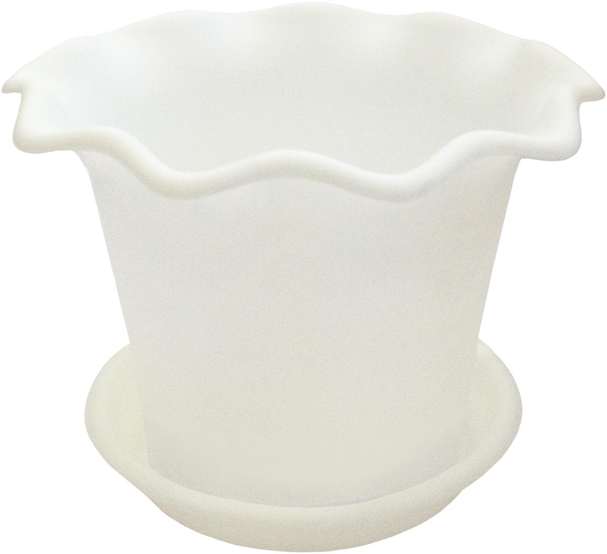 Горшок для цветов InGreen Бали, с поддоном, цвет: белый, диаметр 18 смING45018БЛГоршок InGreen Бали выполнен из высококачественного полипропилена (пластика) и предназначен для выращивания цветов, растений и трав. Снабжен поддоном для стока воды. Такой горшок порадует вас функциональностью, а благодаря лаконичному дизайну впишется в любой интерьер помещения. Диаметр горшка (по верхнему краю): 18 см. Высота горшка: 14 см.