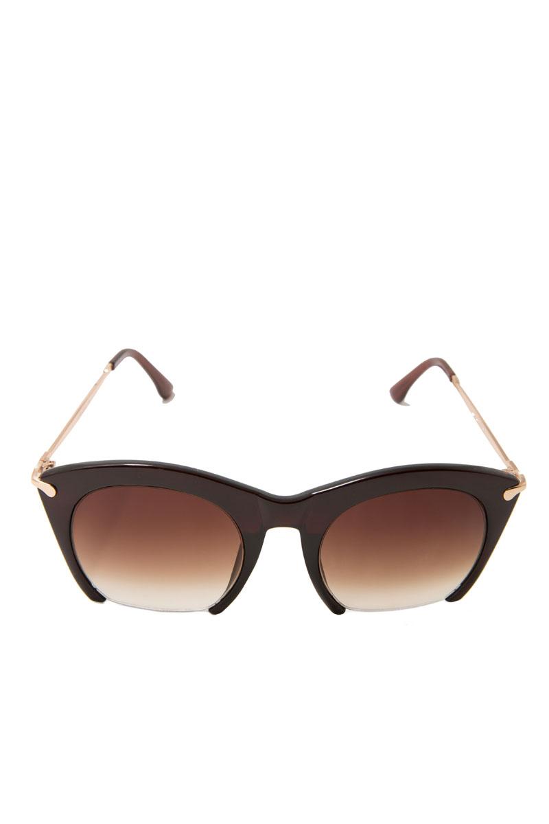 Очки солнцезащитные женские Mitya Veselkov, цвет: коричневый. LANBAO-1646-C2-BROWNT-8V-KMПрекрасные антибликовые очки Mitya Veselkov, станут прекрасным и стильным аксессуаром для вас и защитят от УФ лучей. Они помогут глазу более четко распознать картинку, засвеченную солнечными лучами, при этом скорректируют все возникшие искажения.