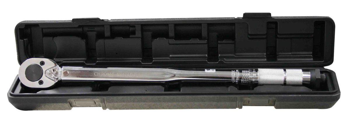 Ключ динамометрический Berger, 1/2, 28-210 Нм. BG-12 TWBG-12TWПластиковый кейс. Посадочный квадрат 1/2, Диапазон моментов затягивания 28-210 Нм, L 470 (мм)