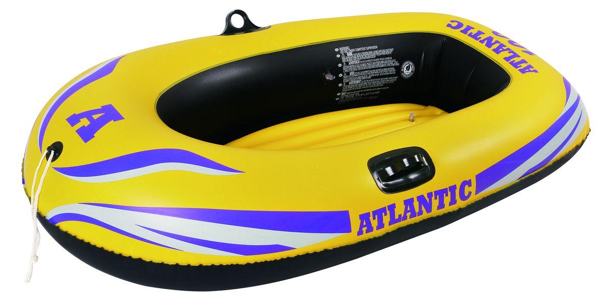 """Лодка надувная Jilong """"Atlantic 100"""", 150 х 100 см, цвет: желтый JL007228NPF"""