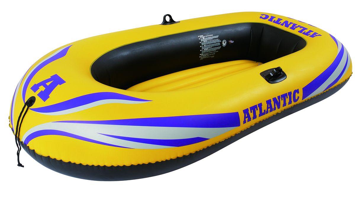 """Лодка надувная Jilong """"Atlantic 300"""", 230 х 135 см, цвет: желтый JL007230NPF"""