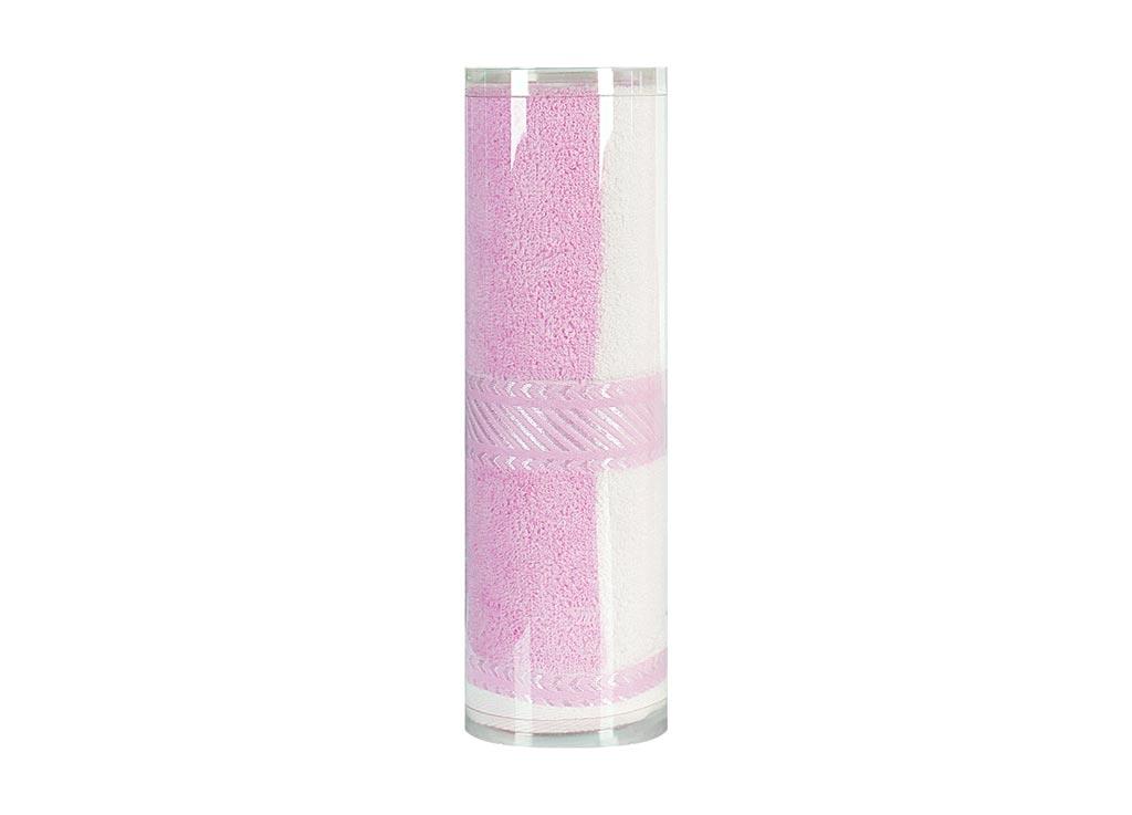 Полотенце махровое Soavita Полосы, цвет: розовый, 50 х 90 смUP210DFМахровое полотно создается из хлопковых нитей, которые, в свою очередь, прядутся из множества хлопковых волокон. Чем длиннее эти волокна, тем прочнее будет нить, и, соответственно, изделие. Длина составляющих хлопковую нить волокон влияет и на фактуру получаемой ткани: чем они длиннее, тем мягче и пушистее получится махровое изделие, тем лучше будет впитывать изделие воду. Хотя на впитывающие качество махры – ее гигроскопичность, не в последнюю очередь влияет состав волокна. Мягкая махровая ткань отлично впитывает влагу и быстро сохнет. Soavita – это популярный бренд домашнего текстиля. Дизайнерская студия этой фирмы находится во Флоренции, Италия. Производство перенесено в Китай, чтобы сделать продукцию более доступной для покупателей. Таким образом, вы имеете возможность покупать продукцию европейского качества совсем не дорого. Домашний текстиль прослужит вам долго: все детали качественно прошиты, ткани очень плотные, рисунок наносится безопасными для здоровья красителями, не линяет и держится много лет. Все изделия упакованы в подарочные упаковки.