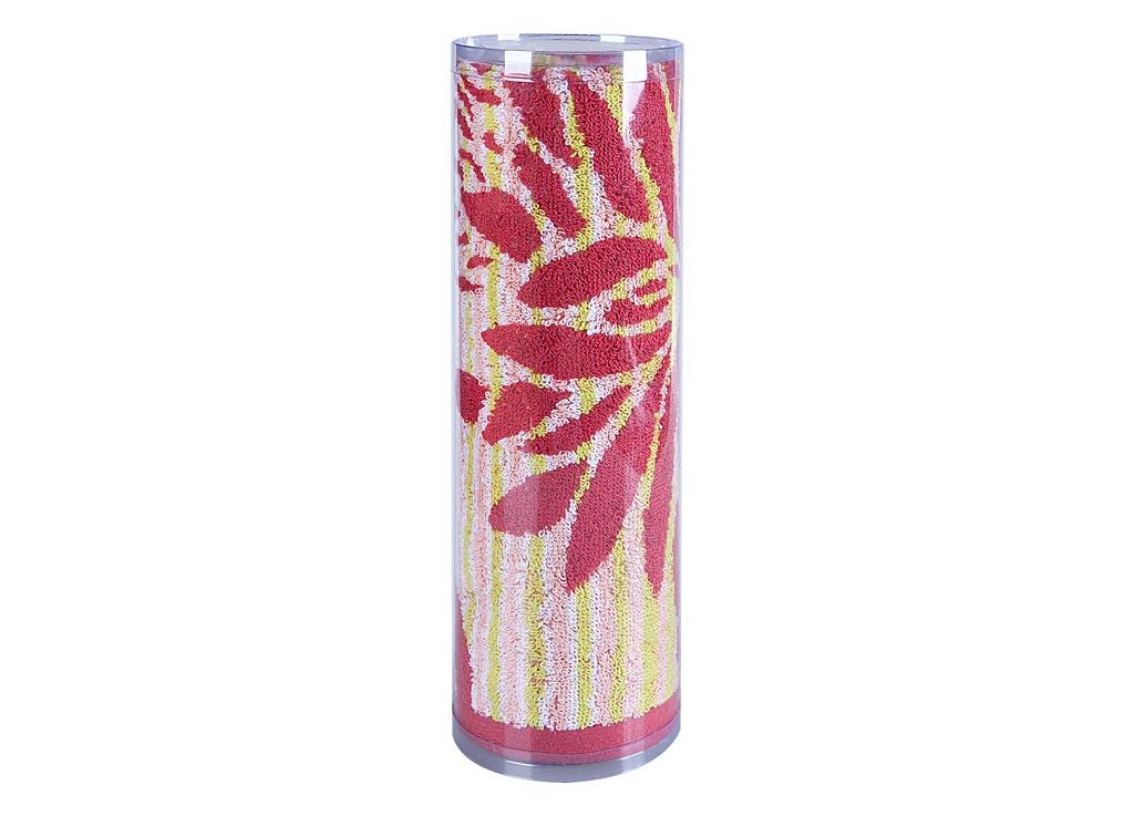 Полотенце махровое Soavita Веер, цвет: розовый, 65 х 130 смS03301004Махровое полотно создается из хлопковых нитей, которые, в свою очередь, прядутся из множества хлопковых волокон. Чем длиннее эти волокна, тем прочнее будет нить, и, соответственно, изделие. Длина составляющих хлопковую нить волокон влияет и на фактуру получаемой ткани: чем они длиннее, тем мягче и пушистее получится махровое изделие, тем лучше будет впитывать изделие воду. Хотя на впитывающие качество махры – ее гигроскопичность, не в последнюю очередь влияет состав волокна. Мягкая махровая ткань отлично впитывает влагу и быстро сохнет. Soavita – это популярный бренд домашнего текстиля. Дизайнерская студия этой фирмы находится во Флоренции, Италия. Производство перенесено в Китай, чтобы сделать продукцию более доступной для покупателей. Таким образом, вы имеете возможность покупать продукцию европейского качества совсем не дорого. Домашний текстиль прослужит вам долго: все детали качественно прошиты, ткани очень плотные, рисунок наносится безопасными для здоровья красителями, не линяет и держится много лет. Все изделия упакованы в подарочные упаковки.