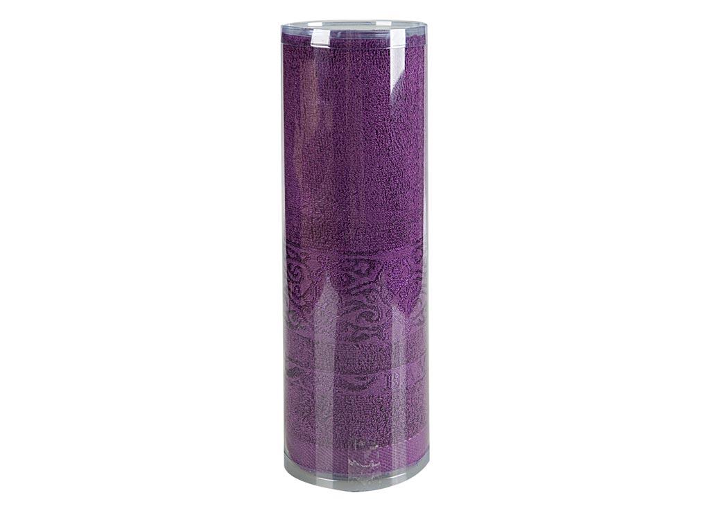 Полотенце махровое Soavita Mario, цвет: лиловый, 70 х 140 см83160Махровое полотно создается из хлопковых нитей, которые, в свою очередь, прядутся из множества хлопковых волокон. Чем длиннее эти волокна, тем прочнее будет нить, и, соответственно, изделие. Длина составляющих хлопковую нить волокон влияет и на фактуру получаемой ткани: чем они длиннее, тем мягче и пушистее получится махровое изделие, тем лучше будет впитывать изделие воду. Хотя на впитывающие качество махры – ее гигроскопичность, не в последнюю очередь влияет состав волокна. Мягкая махровая ткань отлично впитывает влагу и быстро сохнет. Soavita – это популярный бренд домашнего текстиля. Дизайнерская студия этой фирмы находится во Флоренции, Италия. Производство перенесено в Китай, чтобы сделать продукцию более доступной для покупателей. Таким образом, вы имеете возможность покупать продукцию европейского качества совсем не дорого. Домашний текстиль прослужит вам долго: все детали качественно прошиты, ткани очень плотные, рисунок наносится безопасными для здоровья красителями, не...