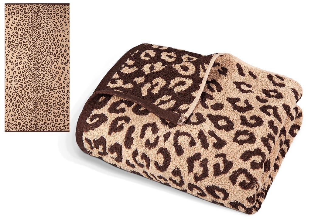 Полотенце Soavita Premium. Леопард, цвет: бежевый, коричневый, 65 х 130 см531-401Махровое полотенце Soavita Premium. Леопард выполнено из хлопка. Полотенца используются для протирки различных поверхностей, также широко применяются в быту.Перед использованием постирать при температуре не выше 40 градусов.Размер полотенца: 65 х 130 см.