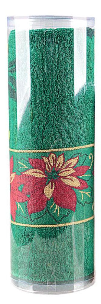 Полотенце махровое Soavita Flower, цвет: зеленый, 70 х 130 смMF-6W-12/230Махровое полотно создается из хлопковых нитей, которые, в свою очередь, прядутся из множества хлопковых волокон. Чем длиннее эти волокна, тем прочнее будет нить, и, соответственно, изделие. Длина составляющих хлопковую нить волокон влияет и на фактуру получаемой ткани: чем они длиннее, тем мягче и пушистее получится махровое изделие, тем лучше будет впитывать изделие воду. Хотя на впитывающие качество махры – ее гигроскопичность, не в последнюю очередь влияет состав волокна. Мягкая махровая ткань отлично впитывает влагу и быстро сохнет. Soavita – это популярный бренд домашнего текстиля. Дизайнерская студия этой фирмы находится во Флоренции, Италия. Производство перенесено в Китай, чтобы сделать продукцию более доступной для покупателей. Таким образом, вы имеете возможность покупать продукцию европейского качества совсем не дорого. Домашний текстиль прослужит вам долго: все детали качественно прошиты, ткани очень плотные, рисунок наносится безопасными для здоровья красителями, не линяет и держится много лет. Все изделия упакованы в подарочные упаковки.