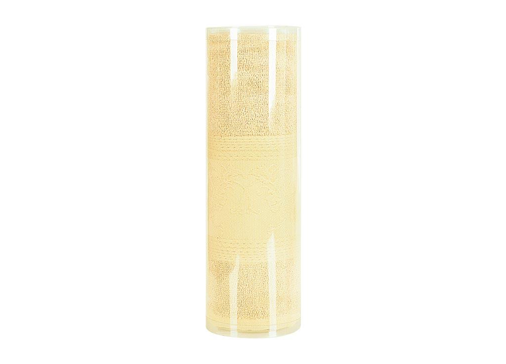 Полотенце махровое Soavita Eo. Цветы, цвет: желтый, 70 х 130 см74684Махровое полотно создается из хлопковых нитей, которые, в свою очередь, прядутся из множества хлопковых волокон. Чем длиннее эти волокна, тем прочнее будет нить, и, соответственно, изделие. Длина составляющих хлопковую нить волокон влияет и на фактуру получаемой ткани: чем они длиннее, тем мягче и пушистее получится махровое изделие, тем лучше будет впитывать изделие воду. Хотя на впитывающие качество махры – ее гигроскопичность, не в последнюю очередь влияет состав волокна. Мягкая махровая ткань отлично впитывает влагу и быстро сохнет. Soavita – это популярный бренд домашнего текстиля. Дизайнерская студия этой фирмы находится во Флоренции, Италия. Производство перенесено в Китай, чтобы сделать продукцию более доступной для покупателей. Таким образом, вы имеете возможность покупать продукцию европейского качества совсем не дорого. Домашний текстиль прослужит вам долго: все детали качественно прошиты, ткани очень плотные, рисунок наносится безопасными для здоровья красителями, не...