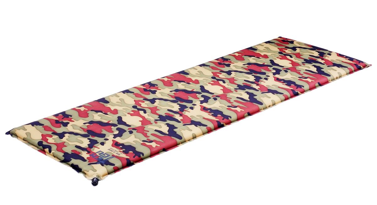 "Коврик самонадувающийся Tengu ""MK 3.07M"", цвет: вудланд, оливковый. 7307.3120"