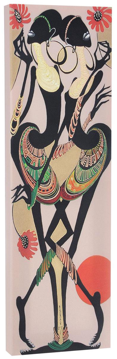КвикДекор Картина детская АфриканкиAP-00789-00005-Cn2160Картина КвикДекор Африканки - это прекрасное украшение для вашей гостиной, детской или спальни. Она привнесет в интерьер яркий акцент и сделает обстановку комфортной и уютной. Автор картины - Надежда Соколова - родилась в 1973 году в городе Дрездене. В 1986-1990 годах училась в Художественной школе города Новгорода. В 1995 году окончила с отличием рекламное отделение Новгородского училища культуры. В 2000 году защитила диплом на факультете Искусств и Технологий НовГУ имени Ярослава Мудрого. Выставляется с 1996 года. Работает в техниках: живопись, графика, батик, лаковая миниатюра, авторская кукла. Является автором оригинального стиля в миниатюре. Изделие представляет собой картину с латексной печатью на натуральном хлопчатобумажном холсте. Галерейная натяжка на деревянный подрамник выполнена очень аккуратно, а боковые части картины запечатаны тоновой заливкой. Обратная сторона подрамника содержит отверстие, благодаря которому картину можно легко закрепить на стене и...
