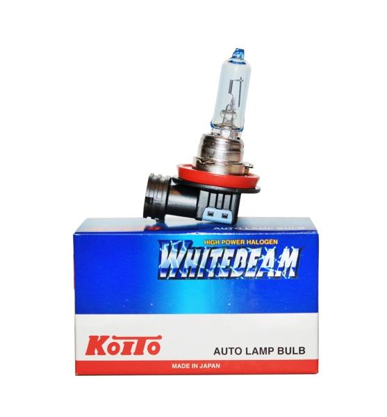 Лампа высокотемпературная Koito Whitebeam H9 12V 65W (120W) 1 шт. 0759WKOITO Лампа автомобильная 0759W1. УДВОЕННАЯ ЯРКОСТЬ СВЕТА ФАРЕсли Вы хотите увеличить яркость света фар Вашего автомобиля - лампы KOITO Whitebeam будут лучшим выбором!Удвоенная ЯркостьЛампы KOITO Whitebeam являются вершиной развития технологий автомобильного освещения. Созданные с применением самых современных технологий и ноу-хау компании KOITO, разработанные на основе опыта поставок систем освещения крупнейшим мировым автопроизводителям, лампы серии Whitebeam III воплотили в себе весь опыт и достижения компании за почти вековую историю работы.Удвоенная яркость и отличная освещенность дороги обеспечивается за счет применения нескольких технологий:- Температура свечения нити накаливания, выполненная из материала с повышенной тугоплавкостью, выше, чем в стандартных галогеновых лампах.- Смесь инертных газов, специально закаченных в колбу под давлением, в два раза превышающим таковое в обычной лампе.Как результат, удвоенная яркость и улучшенная освещенность дороги! НАДЕЖНОСТЬ И ДОЛГИЙ СРОК СЛУЖБЫ...