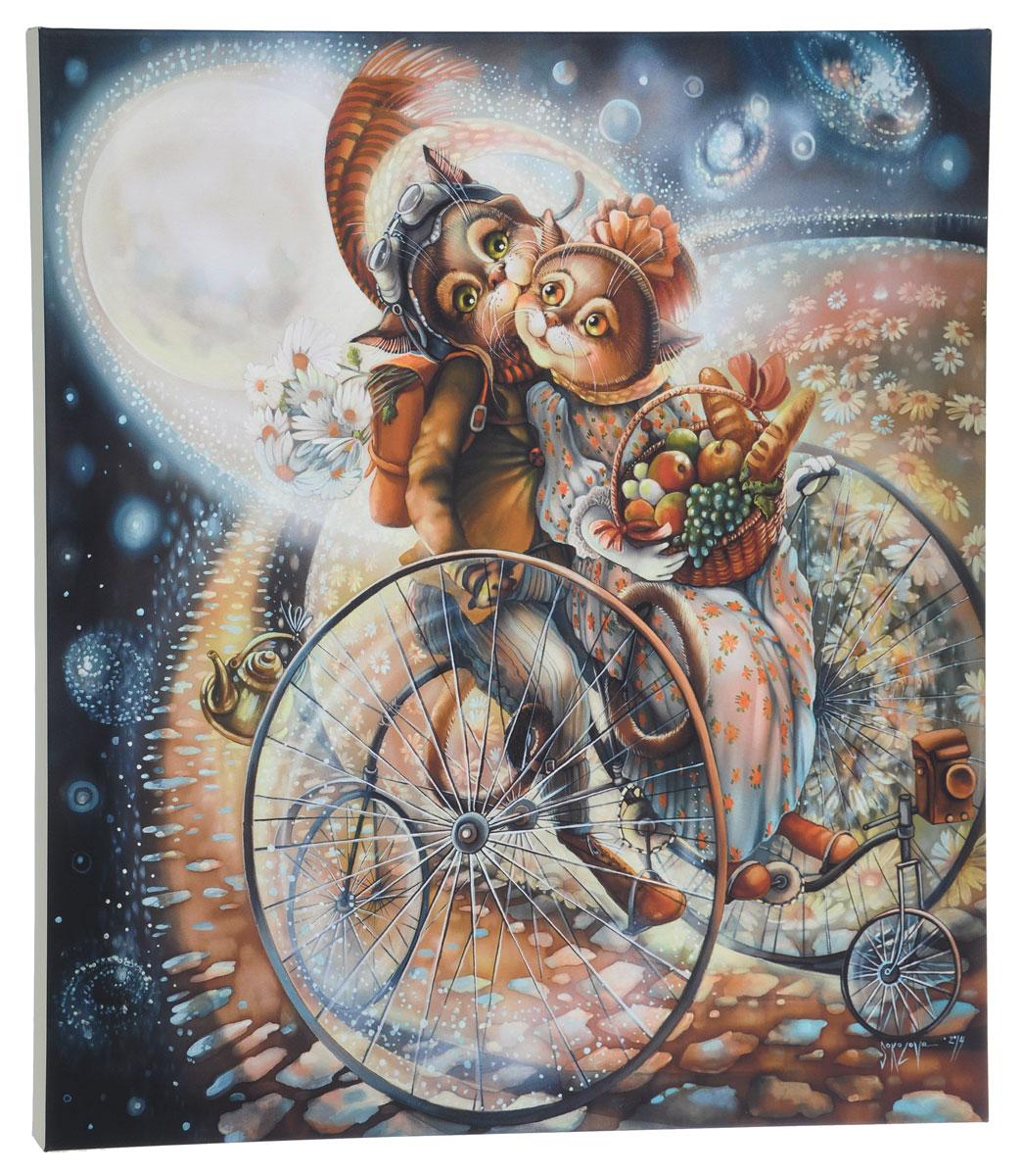 КвикДекор Картина детская Пикник на обочинеAP-00837-00053-Cn5360Картина КвикДекор Пикник на обочине художника Надежды Соколовой дополнит обстановку интерьера нежными красками и необычным оформлением. Изделие представляет собой картину с латексной печатью на натуральном хлопчатобумажном холсте. Галерейная натяжка на деревянный подрамник выполнена очень аккуратно, а боковые части картины запечатаны тоновой заливкой. Обратная сторона подрамника содержит отверстие, благодаря которому картину можно легко закрепить на стене и подкорректировать ее положение. Автор картины Надежда Соколова родилась в 1973 году в городе Дрездене. В 1986-90 годах училась в Художественной школе города Новгорода. В 1995 году окончила с отличием рекламное отделение Новгородского училища культуры. В 2000 году защитила диплом на факультете Искусств и Технологий НовГУ имени Ярослава Мудрого. Выставляется с 1996 года. Работает в техниках: живопись, графика, батик, лаковая миниатюра, авторская кукла. Является автором оригинального стиля в миниатюре. Картина КвикДекор...