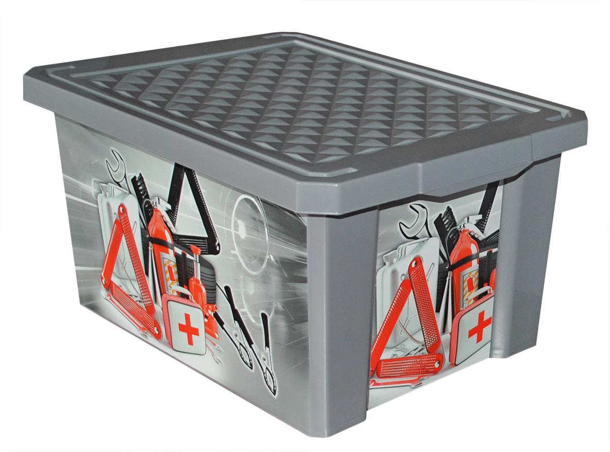 Ящик для инструментов Blocker X-Box, цвет: серый, 405 х 305 х 210 ммBR2584АВТВместительный, стильный и прочный ящик Blocker X-Box отлично подойдет для хранения автомелочей. Непрозрачный корпус и крышка помогут скрыть от глаз содержимое ящика. Идеально вписывается в багажник автомобиля или гараж. Декор ящика износоустойчив, его можно мыть без опасения испортить рисунок. Прочный каркас ящика позволяет хранить как легкие вещи, так и более тяжелый груз.