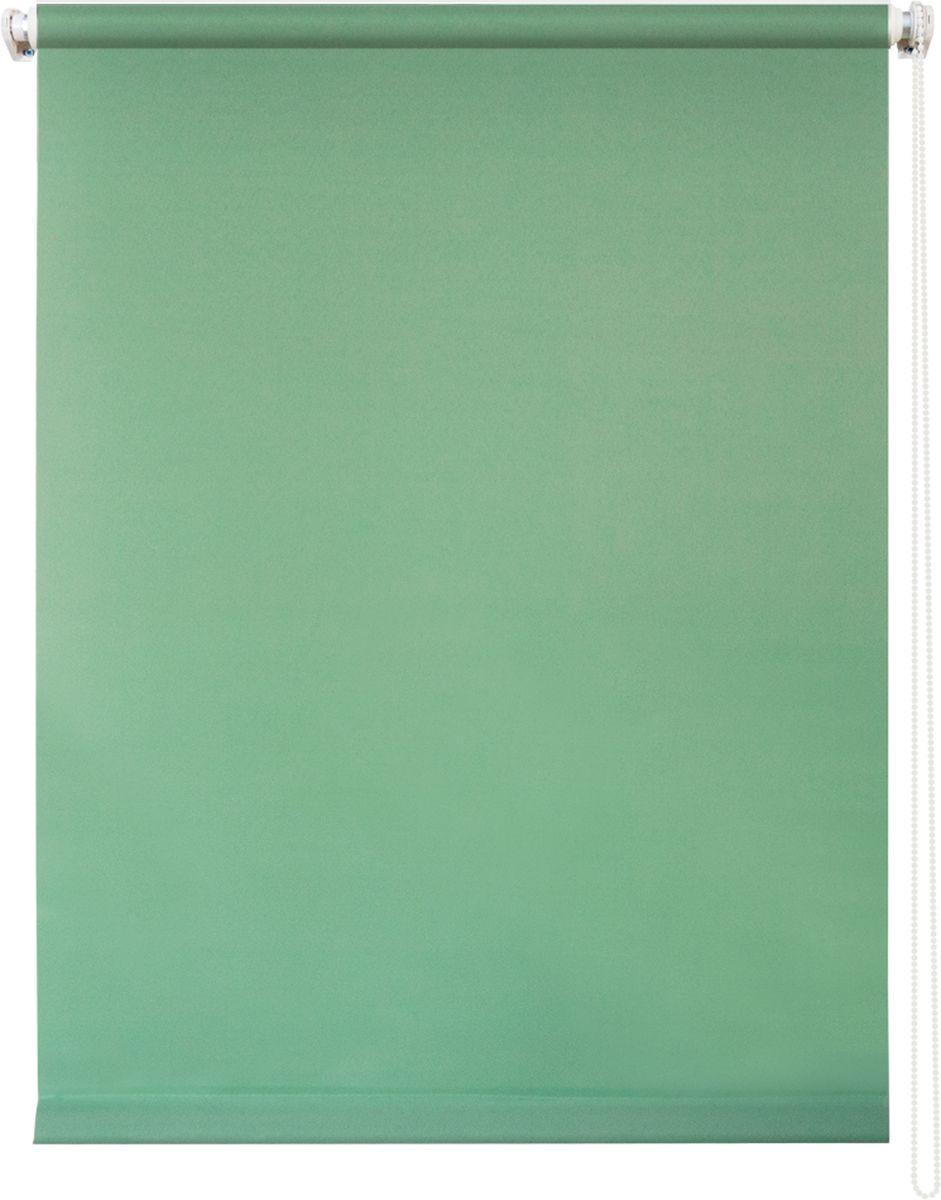 Штора рулонная Уют Плайн, цвет: светло-зеленый, 140 х 175 см10503Штора рулонная Уют Плайн выполнена из прочного полиэстера с обработкой специальным составом, отталкивающим пыль. Ткань не выцветает, обладает отличной цветоустойчивостью и светонепроницаемостью.Штора закрывает не весь оконный проем, а непосредственно само стекло и может фиксироваться в любом положении. Она быстро убирается и надежно защищает от посторонних взглядов. Компактность помогает сэкономить пространство. Универсальная конструкция позволяет крепить штору на раму без сверления, также можно монтировать на стену, потолок, створки, в проем, ниши, на деревянные или пластиковые рамы. В комплект входят регулируемые установочные кронштейны и набор для боковой фиксации шторы. Возможна установка с управлением цепочкой как справа, так и слева. Изделие при желании можно самостоятельно уменьшить. Такая штора станет прекрасным элементом декора окна и гармонично впишется в интерьер любого помещения.
