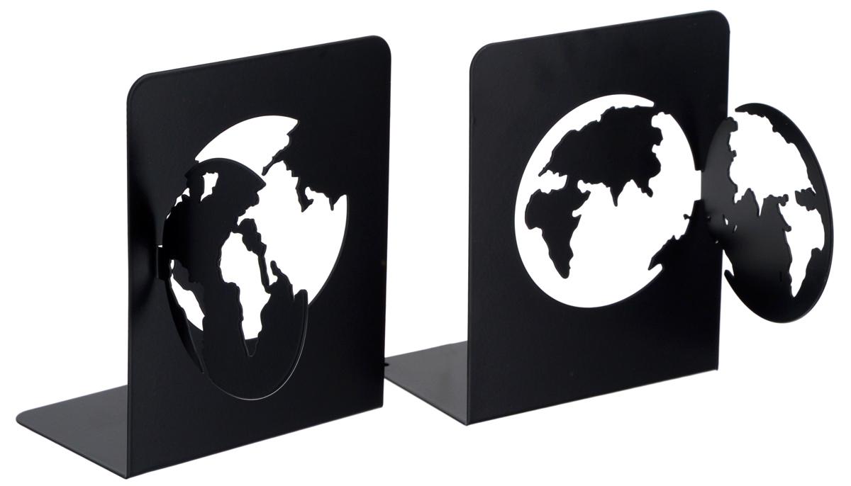 Подставка-ограничитель декоративная для книг Феникс-Презент Планета, 2 шт40647Декоративная подставка-ограничитель Феникс-Презент Планета, изготовленная из металла, состоит из двух частей, с помощью которых можно подпирать книги с двух сторон. Изделия оформлены декоративными фигурками в виде планеты и снабжены противоскользящими подложками из этиленвинилацетата. Между ограничителями можно поместить неограниченное количество книг. Подставка-ограничитель для книг Феникс-Презент Планета - это не только подставка, но и интересный элемент декора, который ярко дополнит интерьер помещения. Размер одной части подставки-ограничителя: 17 х 12 х 15 см. Комплектация: 2 шт.