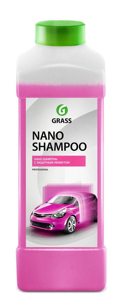 Наношампунь Grass Nano Shampoo, 1 л136101Наношампунь Grass Nano Shampoo - это высокопенный шампунь, который моет и защищает лакокрасочное покрытие автомобиля. Восстанавливает и придает блеск лакокрасочному покрытию, создает тонкую пленку, защищающую кузов от воды, грязи, обледенения. Обработанная поверхность дольше остается чистой и легко моется. Держится на кузове до 30 дней. Для нанесения с помощью пенокомплекта (1 л) потребуется 100 мл концентрата. Для ручной мойки необходимо развести концентрат из расчета 50 мл на 10 л теплой воды. Товар сертифицирован.