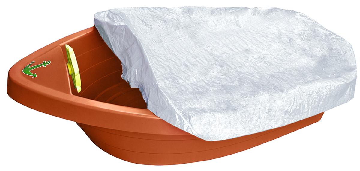 PalPlay Бассейн с покрытием Лодочка цвет оранжевый
