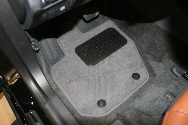 """Набор автомобильных ковриков """"Novline-Autofamily"""" для Volvo S60 АКПП 2010-, седан, в салон, цвет: черный, 4 шт. NLT.50.03.11.110kh"""