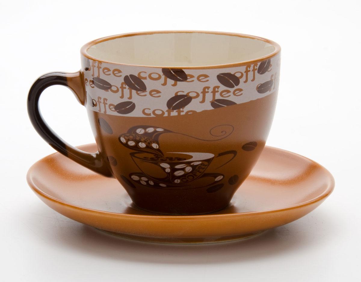 Набор чайный Mayer & Boch, на подставке, 13 предметов. 2354023540Этот набор состоит из шести чашек, расположенных на металлической подставке. Чашки изготовлены из высококачественной керамики и оформлены стильным рисунком Кофе. Изящный дизайн придется по вкусу и ценителям классики, и тем, кто предпочитает утонченность и изысканность. Он настроит на позитивный лад и подарит хорошее настроение с самого утра. Набор кружек LORAINE - идеальный и необходимый подарок для вашего дома и для ваших друзей в праздники.