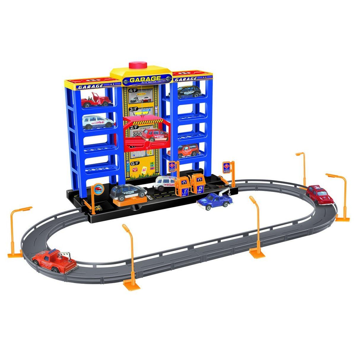 Dave Toy Игровой набор Парковка
