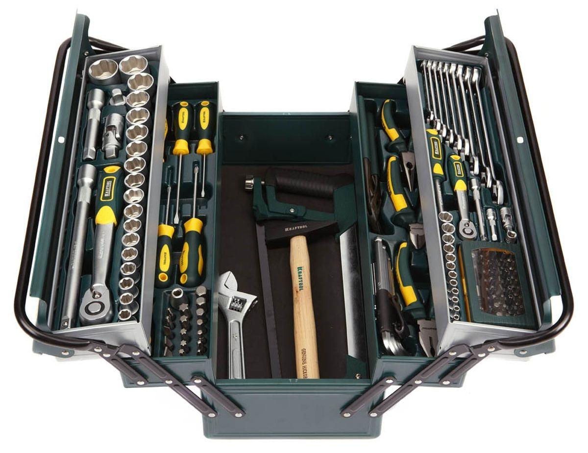 Набор Kraftool Industry Слесарно-монтажный инструмент, 131 предмет27978-H131