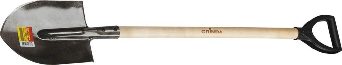Лопата штыковая Grinda, с черенком, длина 120 см531-401Штыковая лопата Grinda - это самый незаменимый и необходимый садовый инвентарь на даче, садовом участке, стройке. Для того, чтобы работать на приусадебном и дачном участках важны такие качества лопаты, как долговечность и удобство в эксплуатации. Изделие имеет широкий спектр применения в сельскомхозяйстве для вскапывания различных видов почв, а также в строительстве для работы с сыпучими материалами, в быту. Рабочая часть выполнена из высококачественной углеродистой стали с порошковой окраской. Черенок изготовлен из березы.Общая длина лопаты: 120 см.Общие размеры лопаты: 28,5 х 20,5 х 142 см.
