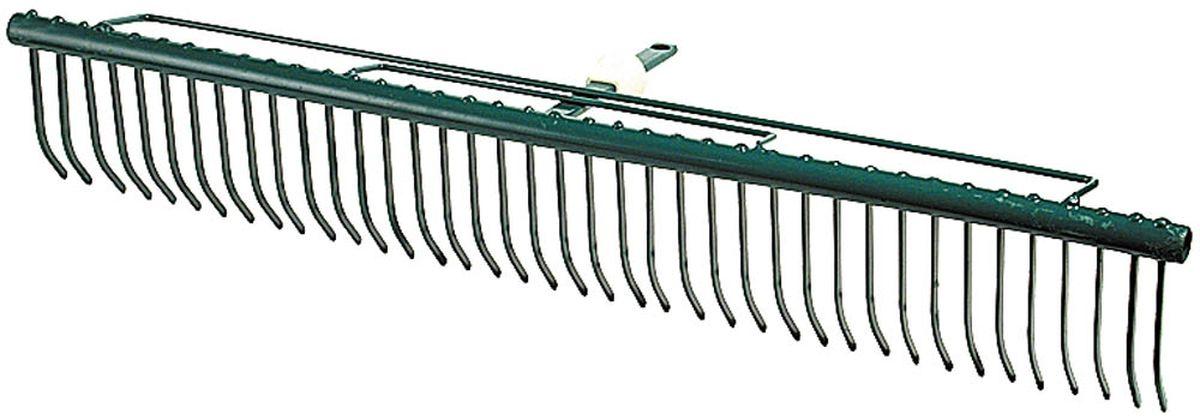 Грабли Raco Maxi, с быстрозажимным механизмом, 68 см4230-53842Грабли Raco Maxi изготовлены из стали, предназначены для очистки газонов от скошенной травы и листьев. Грабли имеют специальные травозадерживающие перемычки, которые покрыты защитным эпоксидным составом. Грабли Raco Maxi оснащены быстрозажимным механизмом One-Touch, который позволяет легко и быстро заменить грабли на нужные по размеру. Грабли отличаются износостойкостью и долгим сроком эксплуатации. Ширина рабочей части: 68 cм. Количество зубцов: 39.