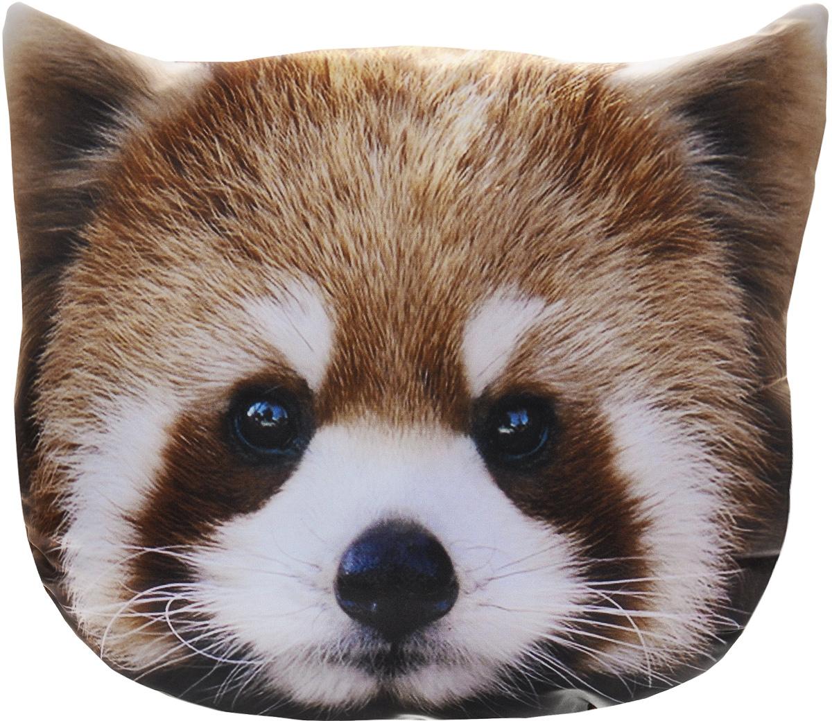 Подушка декоративная GiftnHome Красная панда, 40 х 40 cмPLW-Face ЛисенокДекоративная подушка GiftnHome Красная панда - это яркое украшение вашего дома. Чехол выполнен из гладкого и приятного на ощупь атласа (искусственного шелка). Лицевая сторона украшена красочным изображением. Чехол застегивается на молнию. Внутренний наполнитель подушки - холлофайбер. Красивая подушка создаст в доме уют и станет прекрасным элементом декора.