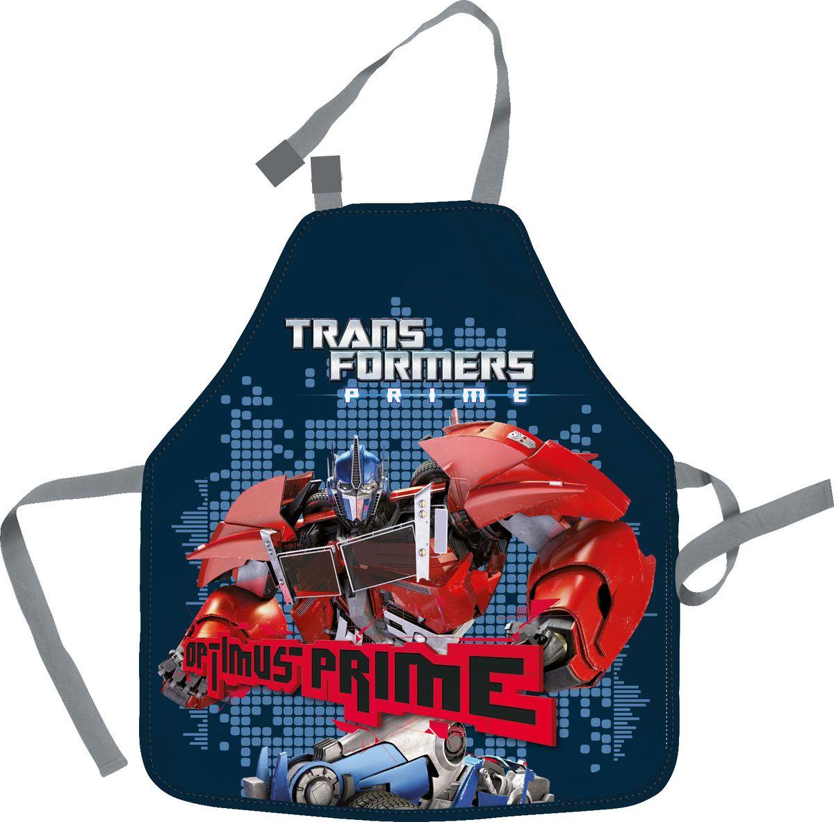 Transformers Фартук для труда Optimus PrimeNFn_04188Фартук Transformers Optimus Prime поможет вашему ребенку не испачкать свою одежду во время занятий творчеством и на уроках труда. Изделие изготовлено из водостойкого материала. Удобные завязки помогут зафиксировать фартук на шее и талии в нужных положениях.