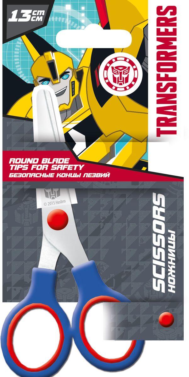 Transformers Ножницы детские 13 см921-74Детские ножницы Transformers, выполненные из металла и пластика, имеют скругленные концы. Оснащены пластиковым чехлом для безопасного использования и хранения. Длина ножниц: 13 см.