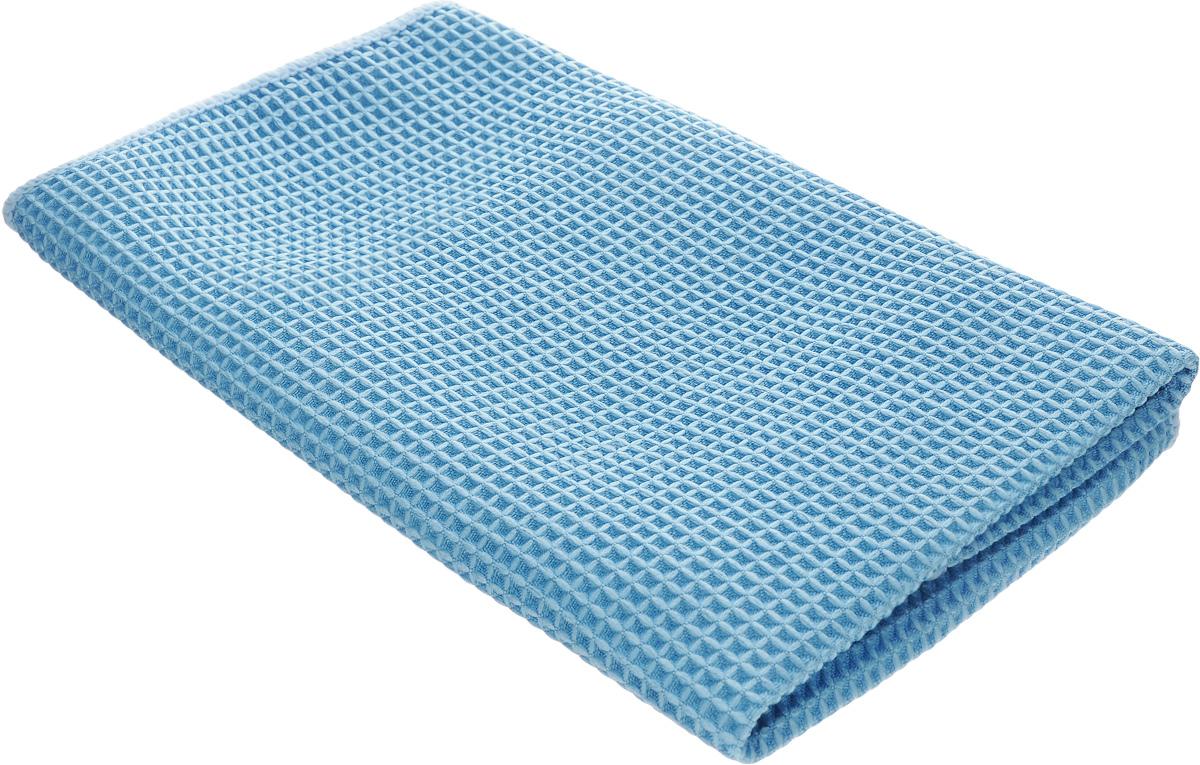 Салфетка для кухни Unicum Premium, цвет: синий, 40 х 40 см10503Салфетка Unicum Premium изготовлена по самым современным технологиям. Уникальные чистящие свойства салфетки - абсорбировать жир, грязь, пыль, никотин - обеспечивают специальные клиновидные микроволокна, которые в 100 раз меньше человеческого волоса. Салфетка обладает непревзойденной способностью быстро впитывать большой объем жидкости (в восемь раз больше собственной массы). Изделие подходит для вытирания легких загрязнений и полировки. Протертая поверхность становится идеально чистой, сухой и блестящей. Возможно ручная и машинная стирка при температуре 60°С. Не стирать со смягчителями белья и хлорсодержащими отбеливателями.