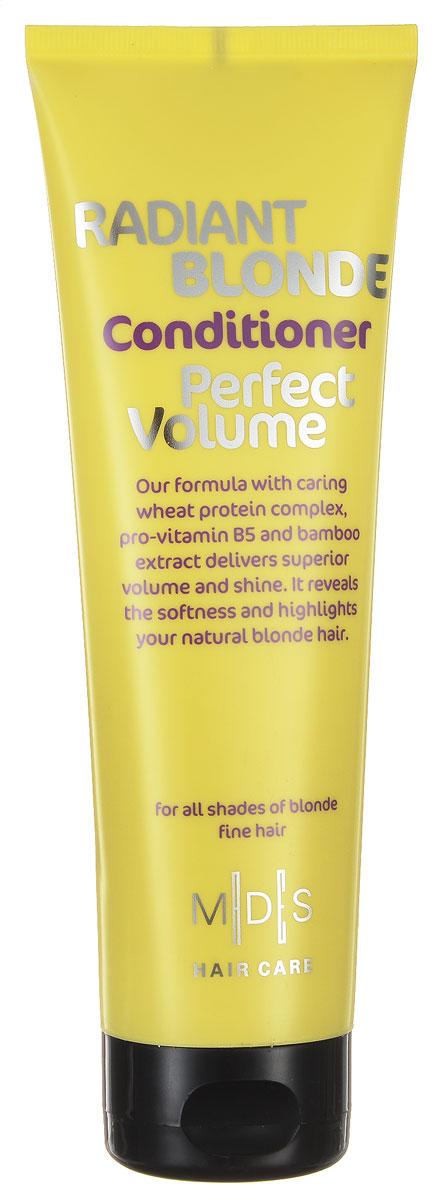 Hair Care Кондиционер для светлых волос Radiant Blonde Perfect Volume для придания объема, 250 мл803831Кондиционер с про-витамином В5 для придания объема светлым волосам. Сочетание про-витамина В5, экстракта бамбука, меда и розового перца питает и увлажняет волосы, придавая объем от самых корней. Подходит для ежедневного применения. Для всех типов волос.