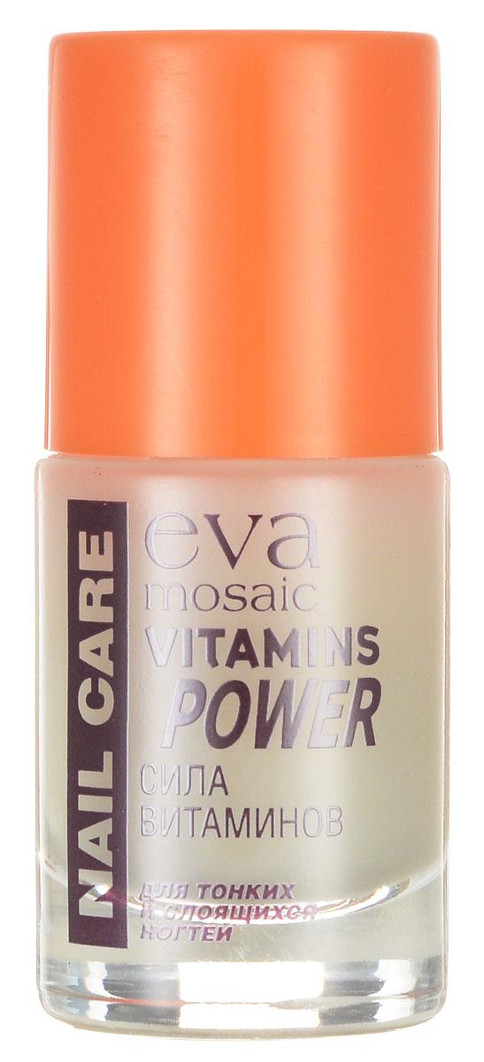 Eva Mosaic Уход для тонких и слоящихся ногтей, 10 мл685689Полная линия профессиональных продуктов для достижения эффекта салонного маникюра дома.