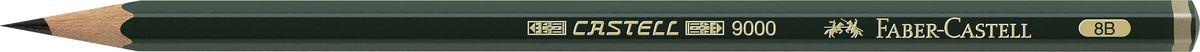 Faber-Castell Карандаш чернографитный Castell 9000 твердость 8B72523WDFaber-Castell Castell 9000 - шестигранный графитный карандаш наивысшего качества с долголетней традицией. Пригоден не только для письма, но и для эскизов и рисования. Покрыт лаком на водной основе в интересах защиты окружающей среды. Специальная SV технология вклеивания грифеля предотвращает его поломку при падении. Высокое качество мягкой древесины обеспечивает легкое затачивание.