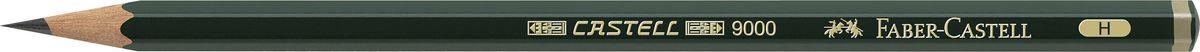 Faber-Castell Карандаш чернографитный Castell 9000 твердость H119011Faber-Castell Castell 9000 - шестигранный графитный карандаш наивысшего качества с долголетней традицией. Пригоден не только для письма, но и для эскизов и рисования. Покрыт лаком на водной основе в интересах защиты окружающей среды. Специальная SV технология вклеивания грифеля предотвращает его поломку при падении. Высокое качество мягкой древесины обеспечивает легкое затачивание.