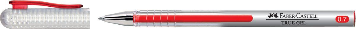 Faber-Castell Ручка-роллер True Gel цвет чернил красный243821Ручка-роллер Faber-Castell True Gel с наконечником 0,7 мм обеспечивает очень мягкое письмо. Пригодна для письма на документах. Имеет водостойкие и светостойкие чернила. Эргономичная зона захвата обеспечивает комфорт во время письма. Колпачок оснащен упругим клипом.