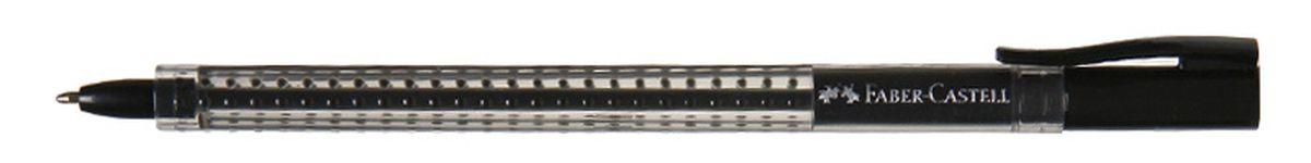 Faber-Castell Ручка шариковая Grip 2020 цвет черный544599Шариковая ручка Faber-Castell Grip 2020 эргономичной трехгранной формы станет незаменимым атрибутом учебы или работы. Прозрачный корпус ручки выполнен из пластика и соответствует цвету чернил. Запатентованная антискользящая зона захвата дополнена малыми массажными шашечками. Высококачественные чернила позволяют добиться идеальной плавности письма. Ручка оснащена упругим клипом для удобной фиксации на бумаге или одежде.