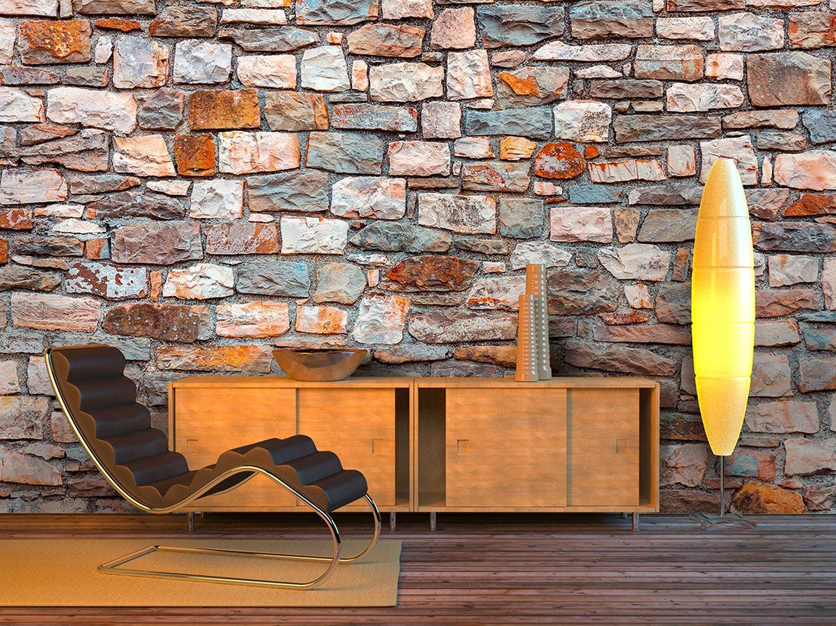 Фотообои PosterMarket Каменная стена, размер 254 х 184WM-16Фотообои PosterMarket представляют собой изображение каменной стены и позволят создать неповторимый облик помещения, в котором они размещены. Фотообои наносятся на стены одним большим полотном. Они не впитывают жир, грязь, чернила, краски и пластилин. Фотообои снова вошли в нашу жизнь, став модным направлением декорирования интерьера. Выбрав правильную фактуру и сюжет изображения можно добиться невероятного эффекта живого присутствия.