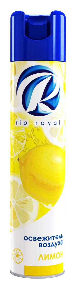 Освежитель воздуха Rio Royal Лимон, 300 мл22759Освежитель воздуха «Рио ройял» предназначен для устранения неприятных запахов в различных помещениях. Обладает длительным действием, надолго наполняя ваш дом благоухающими ароматами.